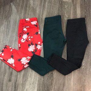 3 Pairs of Pixie Pants